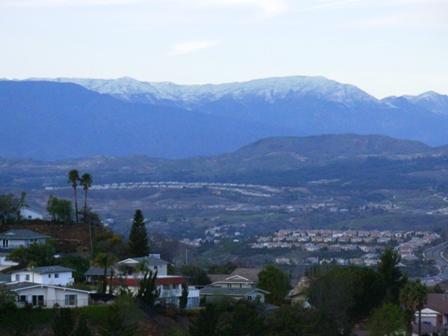 snowfall in Ventura County Jan 2008