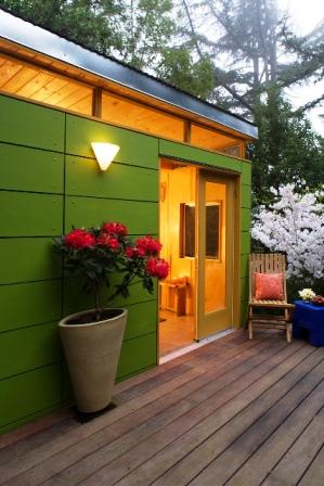 Leaf green shed - Berkeley, CA