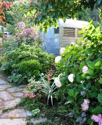 Lorene Edwards Forkner's garden trailer