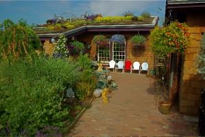Living in the Garden's green roof