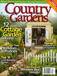 Look inside for Debra's feature about Oregon lavender farmer Sarah Bader