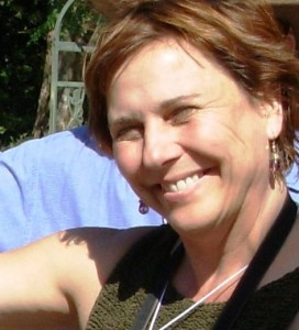 Lorene, visiting a waterwise garden in San Diego, 2007