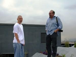 Chef Jonathan McDowell and Chef-photographer Rico Mandel