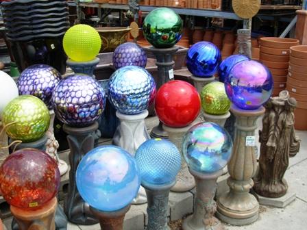 Debra Prinzing Post Circles spheres orbs and globes in my