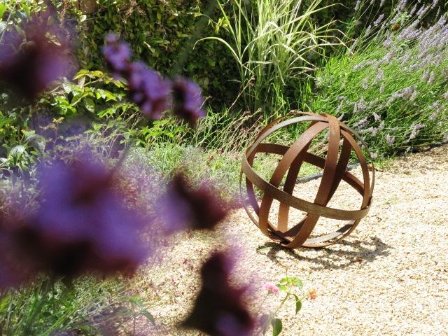 Debra Prinzing Post More spheres in my garden