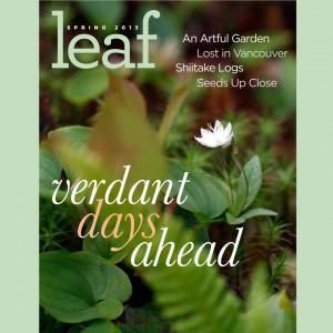 Leaf Magazine Spring 2013