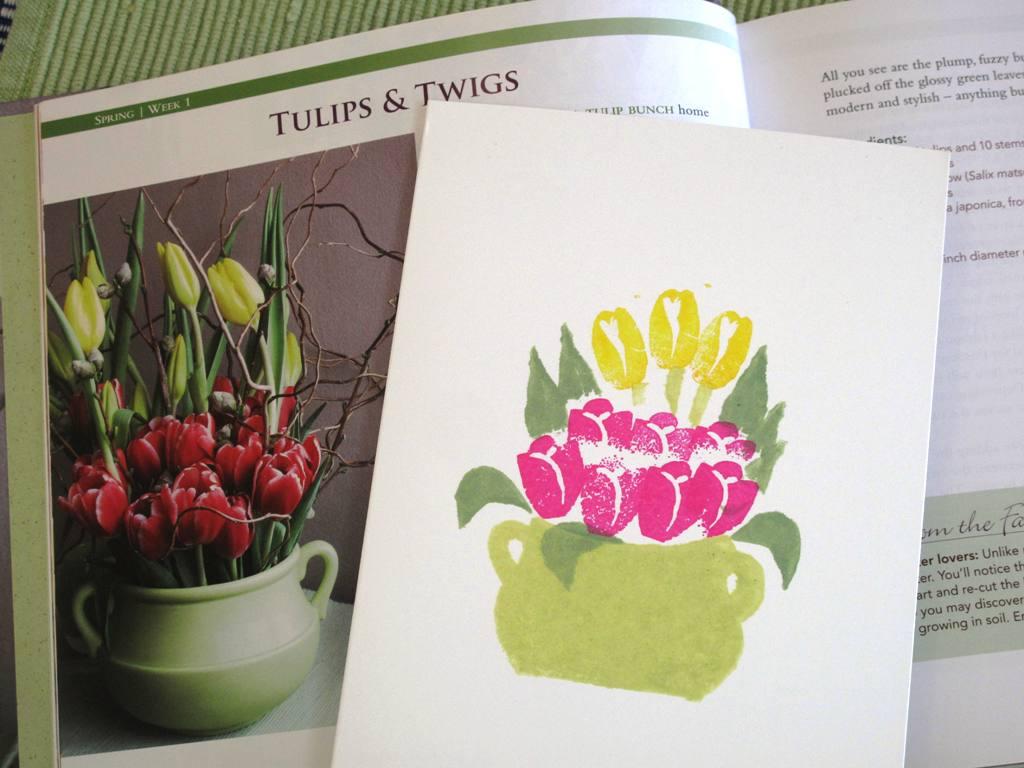 Tulips Twigs