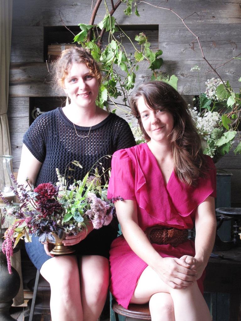 Nicolette and Sarah