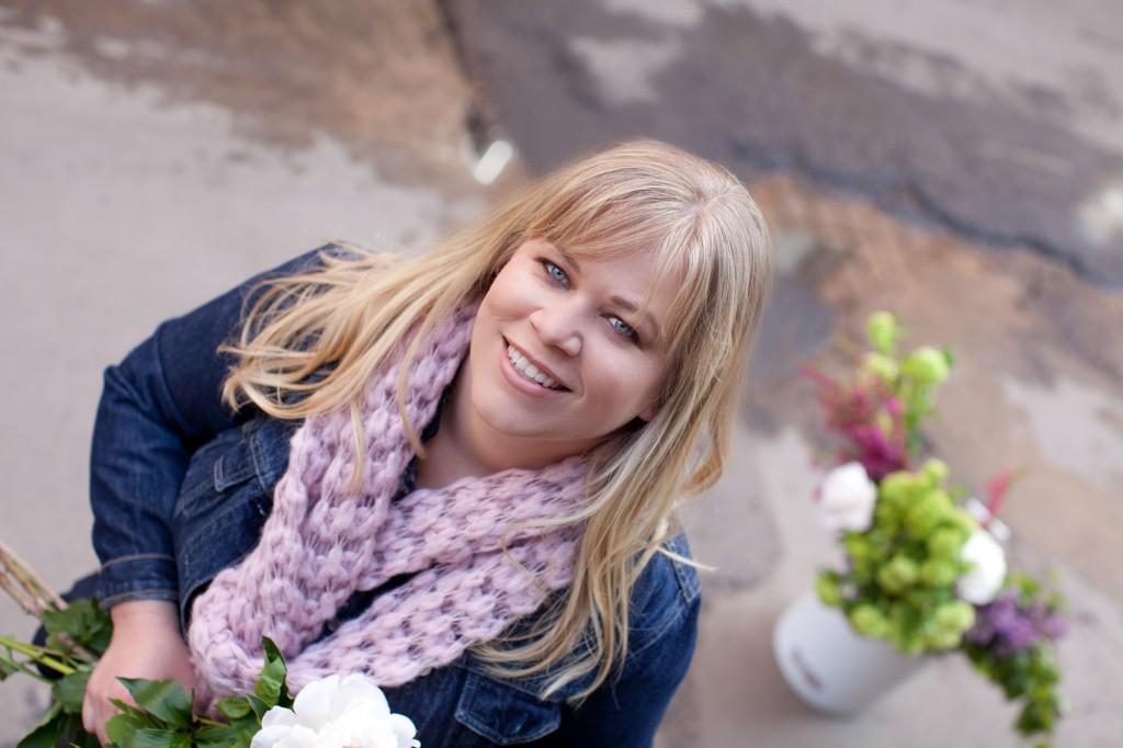 Floral designer, educator, author-blogger and visionary, Alicia Schwede