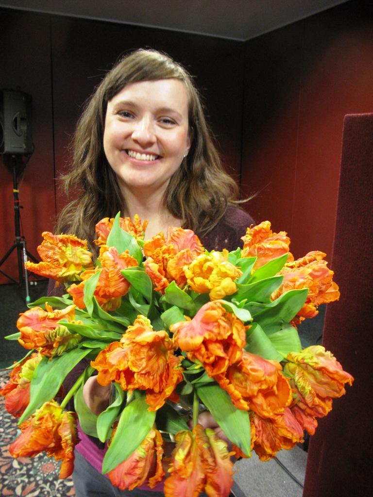 Meet Lynn Fosbender, owner of Pollen Inc., a Chicago floral design studio  with a green ethos.