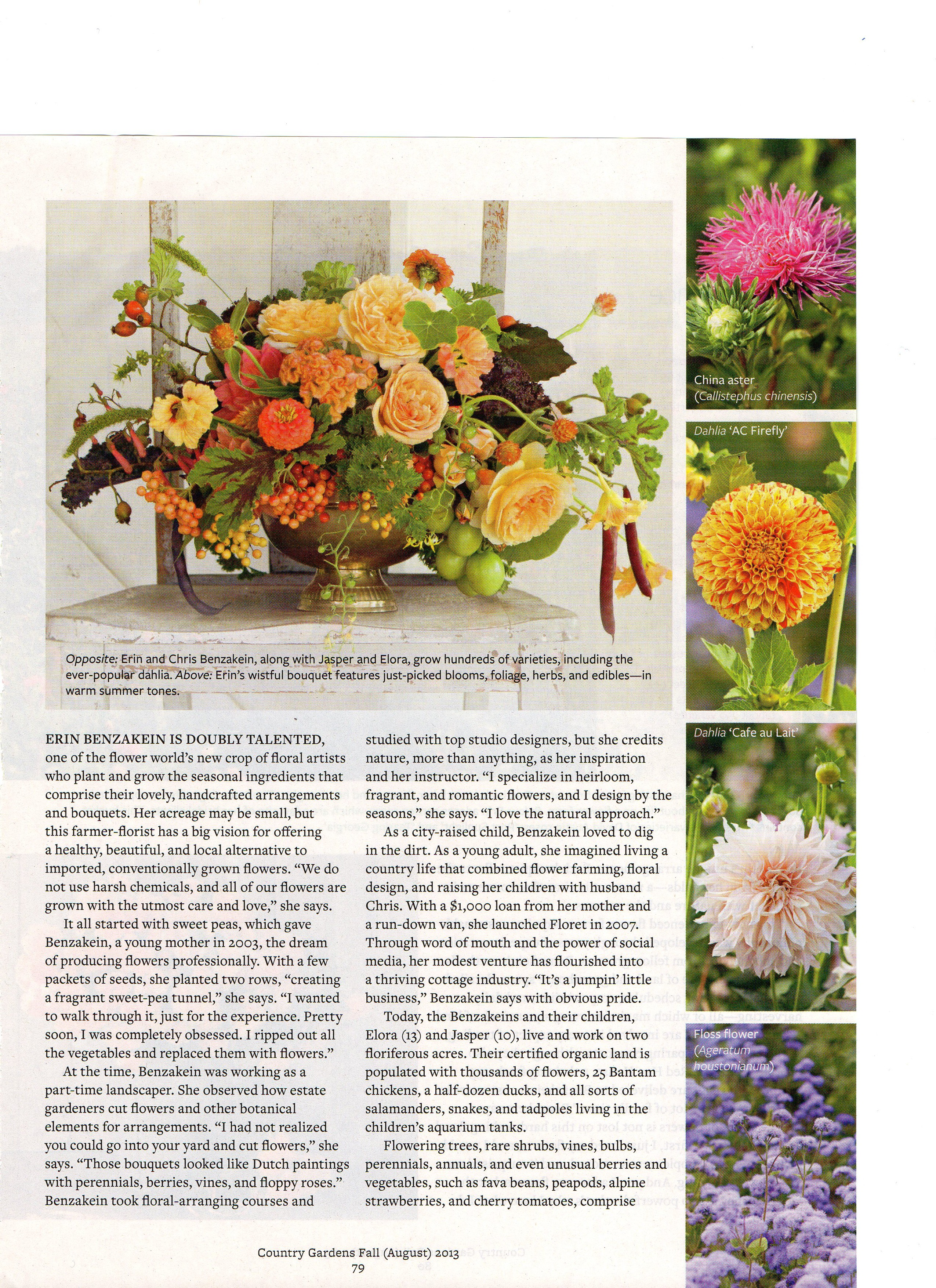 Debra Prinzing Article Category Cut Flowers Floral Design