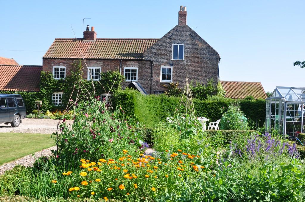 Field House Farm in Yorkshire, where Gillian Hodgson grows her beautiful British flowers.
