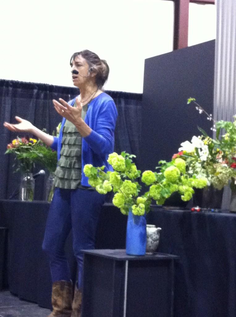 Maryann Nardo of 7 Petals Floral Design.