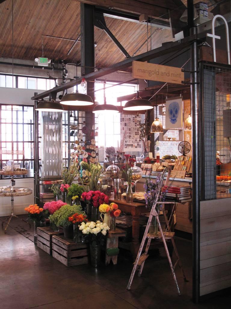 Debra prinzing post slow flowers podcast marigold for Designs east florist interior