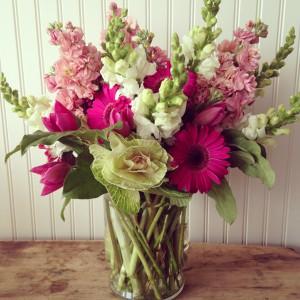 A seasonal arrangement from The Local Bouquet.
