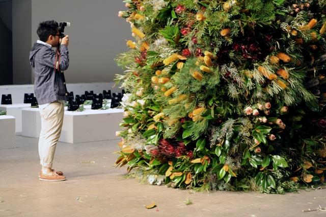Australia Fashion Week Installation.