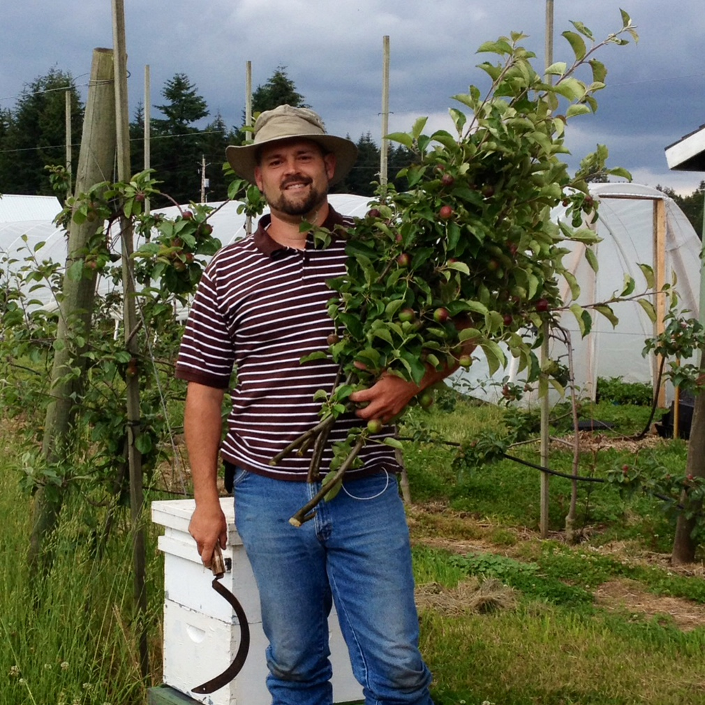 Gentleman orchardist, Steve Pabody.