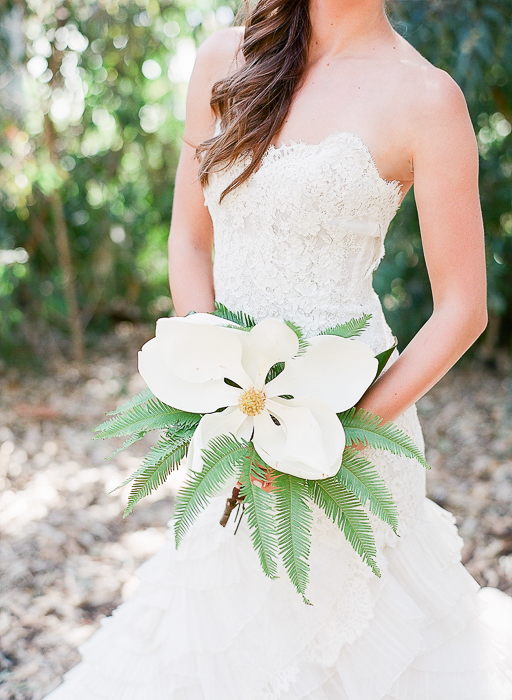 a singular bouquet.