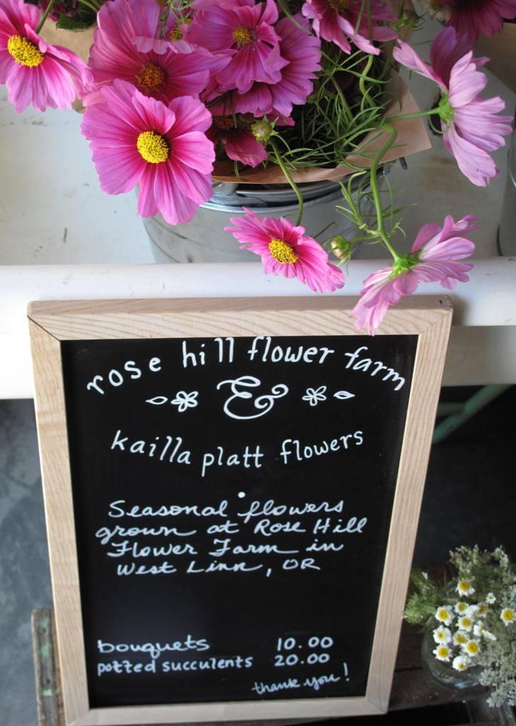 A floral collaboration.