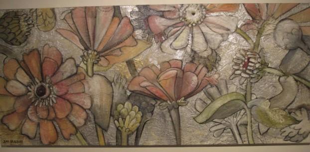 'Zinnias', by Jean Bradbury