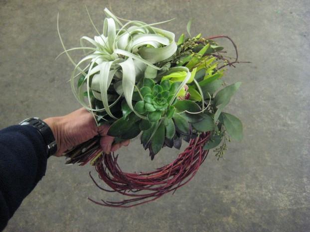 Man bouquet, designed by Riz Reyes of RHR Horticulture.