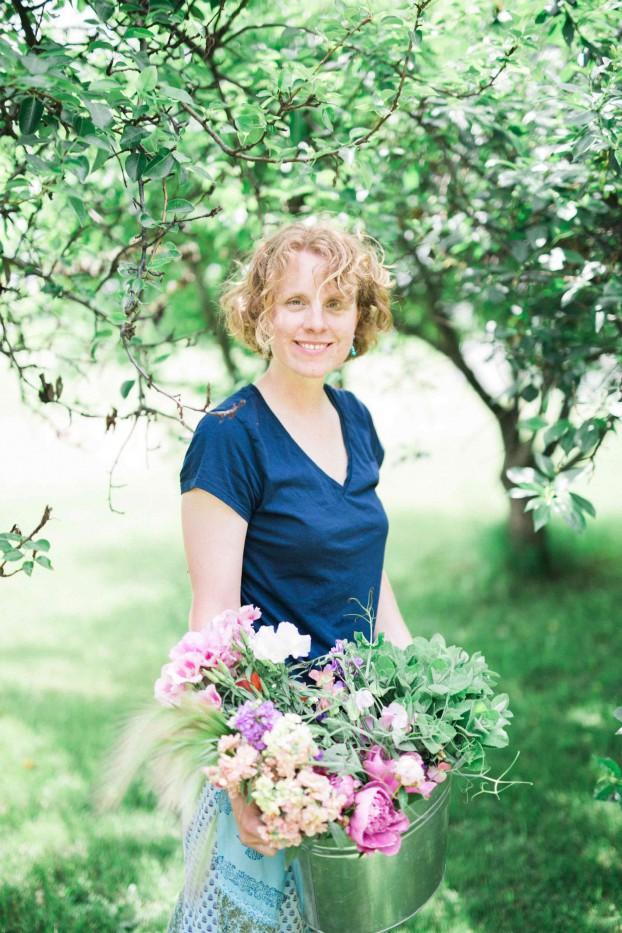 Emily Watson, Milwaukee, Wisconsin-based flower farmer, floral designer, entrepreneur -- today's podcast guest.