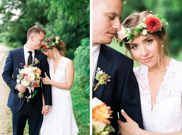 Emily Watson-designed wedding flowers.
