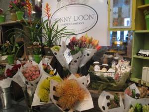Bonny Doon's retail space inside New Leaf Market in Santa Cruz, CA.