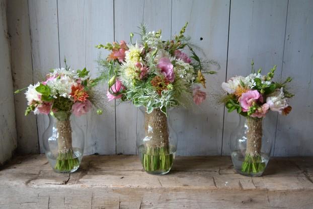 A floral still-life.