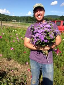 Luke Franco, one half of Tiny Hearts Farms