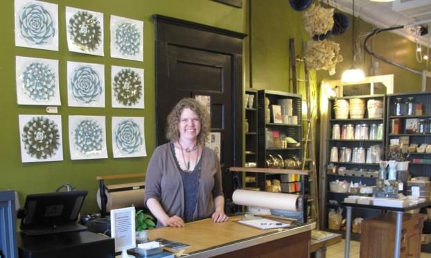 Proprietress and creative director Christine Hoffman.