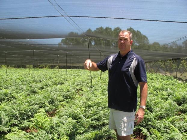 4th generatoin Fern Farmer Eric Hagstrom.