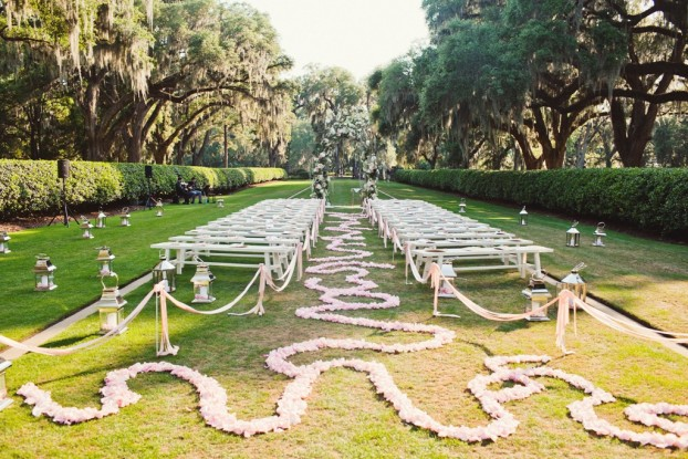 A David Beahm floral installation.