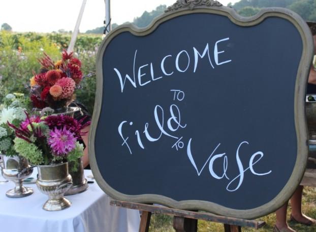 A farm-chic welcome!