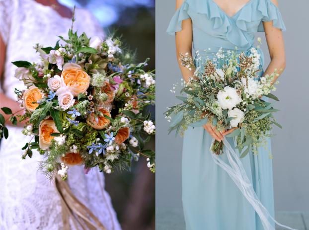 Wedding flowers by Flower Duet