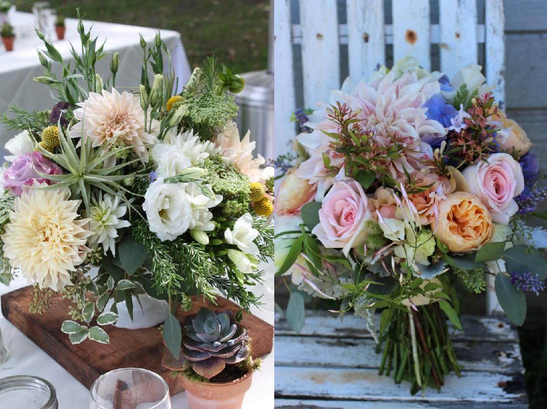 Seasonal design work by Faye Krause of Flora Organica Designs (c) Faye Krause