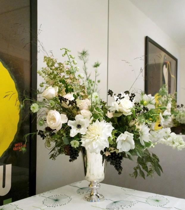 A beautiful arrangement by Kelli Galloway
