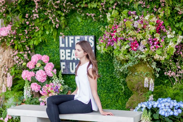 Amanda Austin floral installation