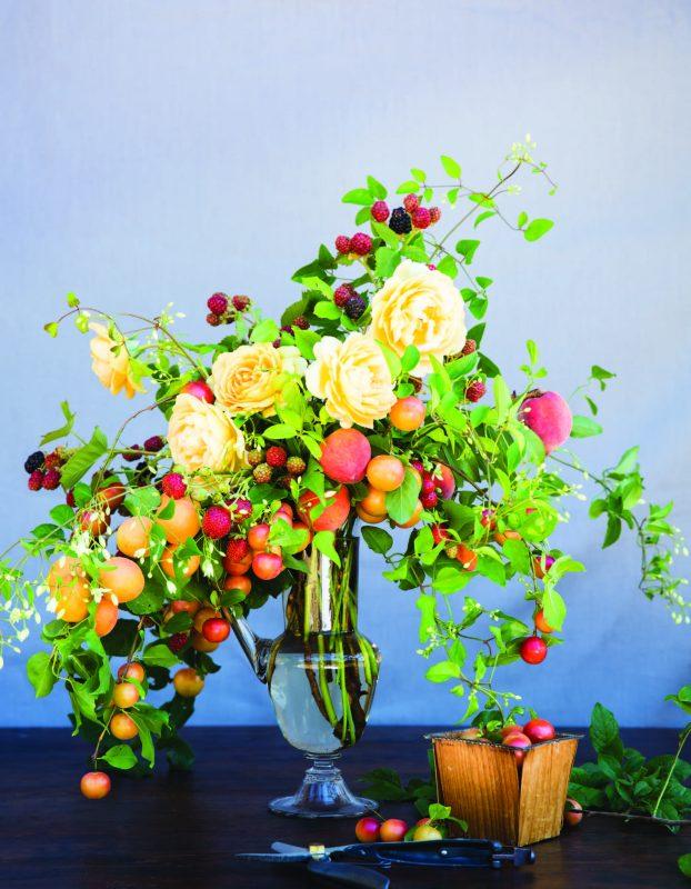 """Summer Fruits,"" Ariella's interpretation from the orchard."