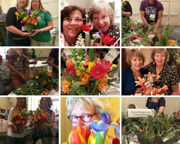 Facebook, Instagram, Twitter photos from the Garden Writers event.