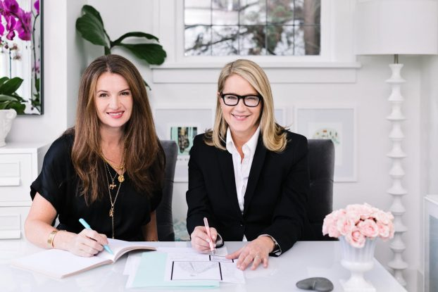 Karen Marshall and Tina Barkley of Fleurs de Villes