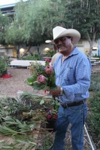 American flower farmer Mel Resendiz