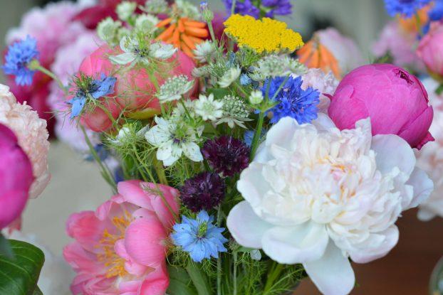 Butternut Gardens' springtime bouquets