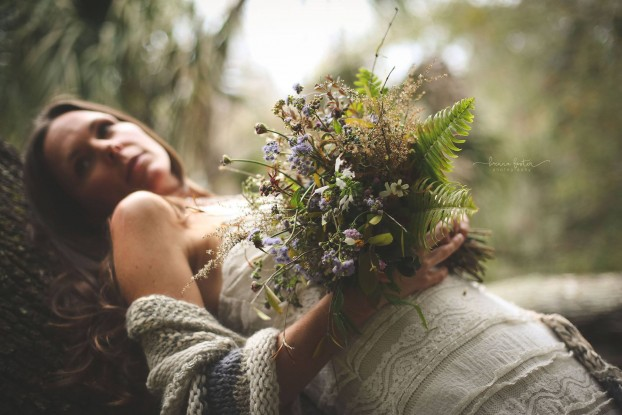 A Williams Wildflowers (Florida) wedding bouquet (c) Brenna Foster