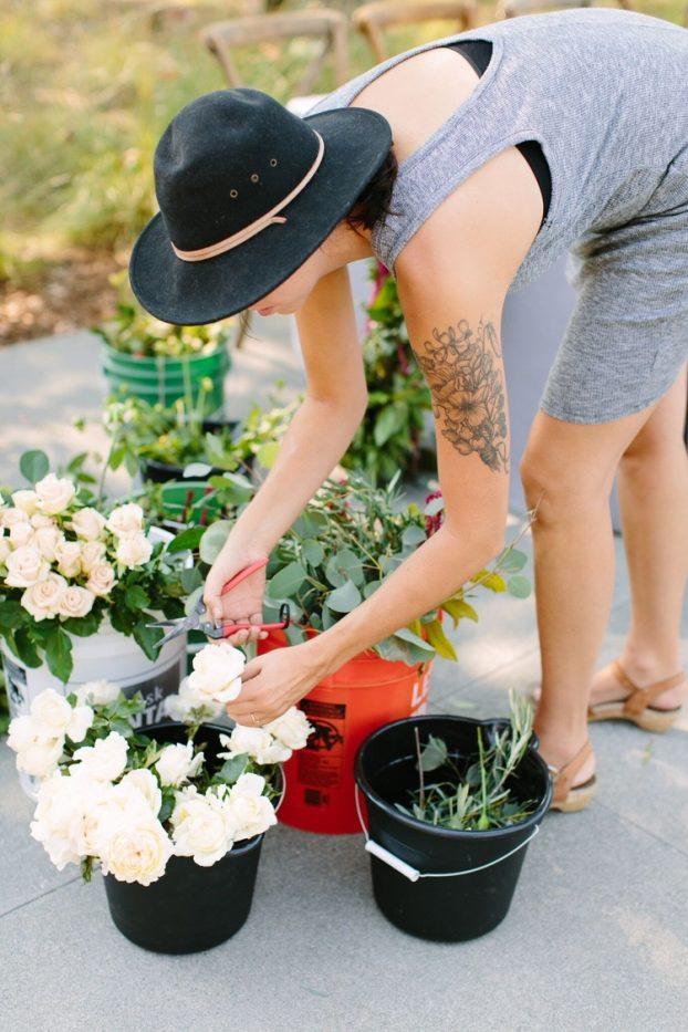 Jaclyn Nesbitt, floral designer and fine artist