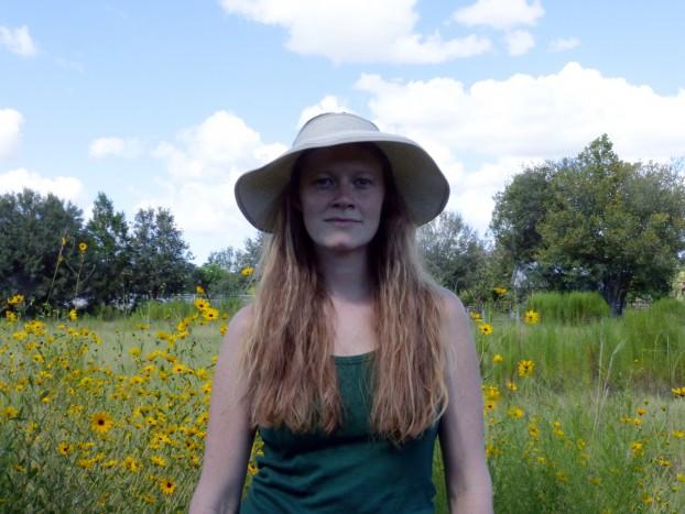 Annie at Williams Wildflowers Florida