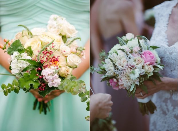 Slow Flowers designed by Bonny Doon Garden Co. for Aimée's Slow Weddings clients