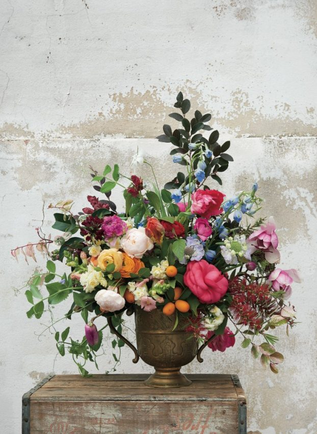 Pistil & Stamen's lush, over-the-top urn design