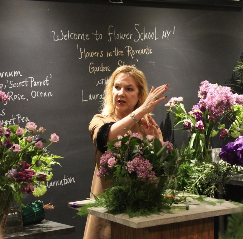 Master Floral Designer, Laura Dowling.