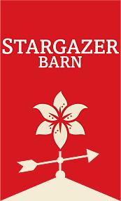 Stargazer Barn of Arcata, California, donated vivid tulips, irises and cotinus foliage.
